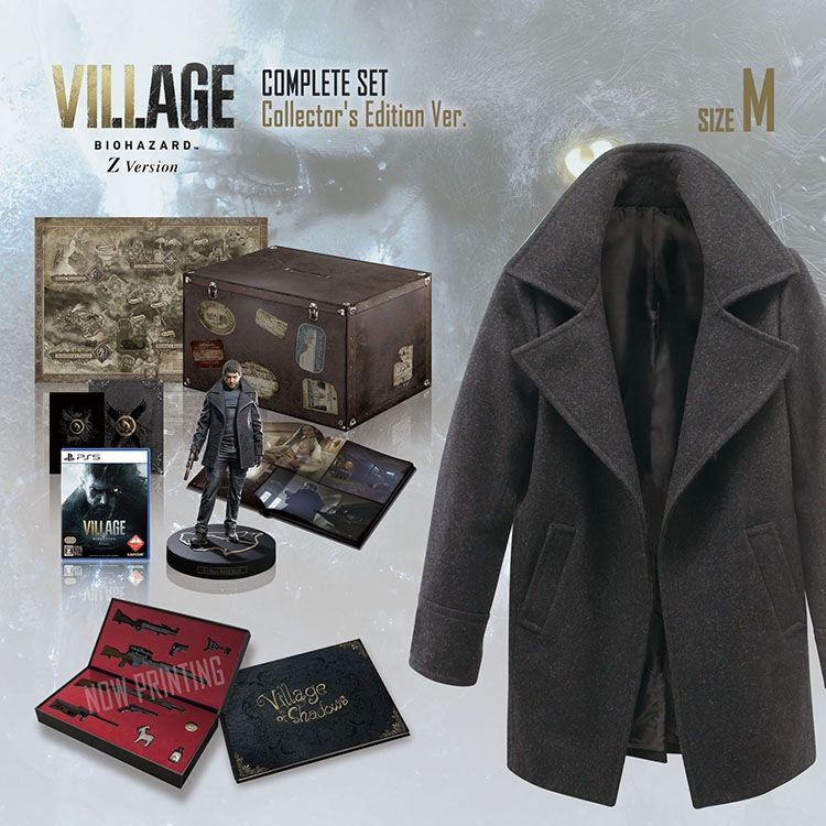 You can buy a Resident Evil Village CE in Japan, which ...