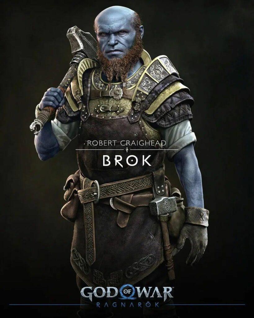 God of War Ragnarok Brox