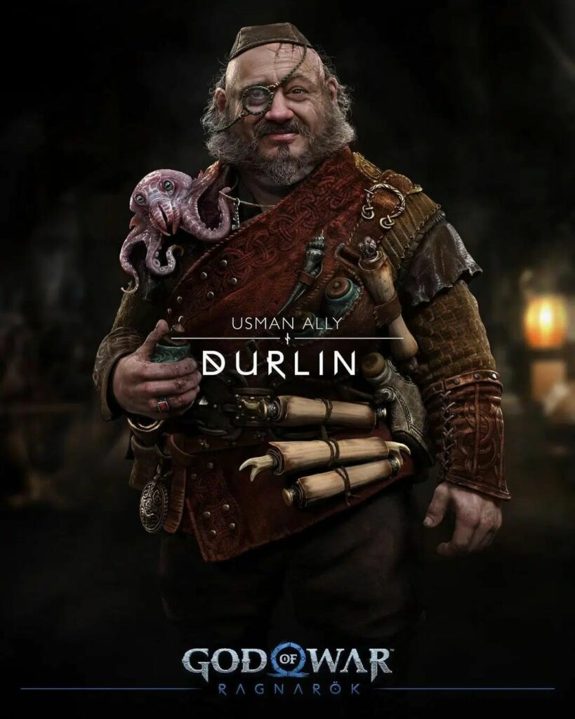 God of War Ragnarok Durlin
