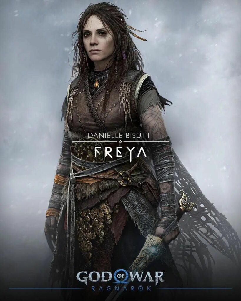 God of War Ragnarok Freya