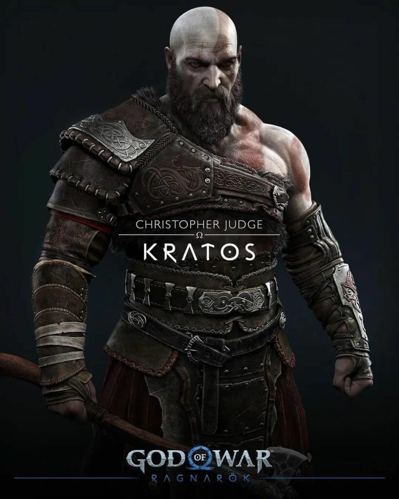 God of War Ragnarok Kratos