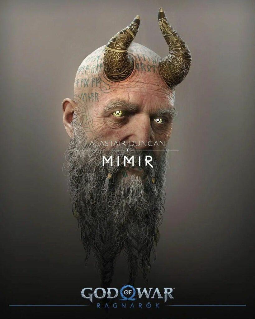 God of War Ragnarok Mimir