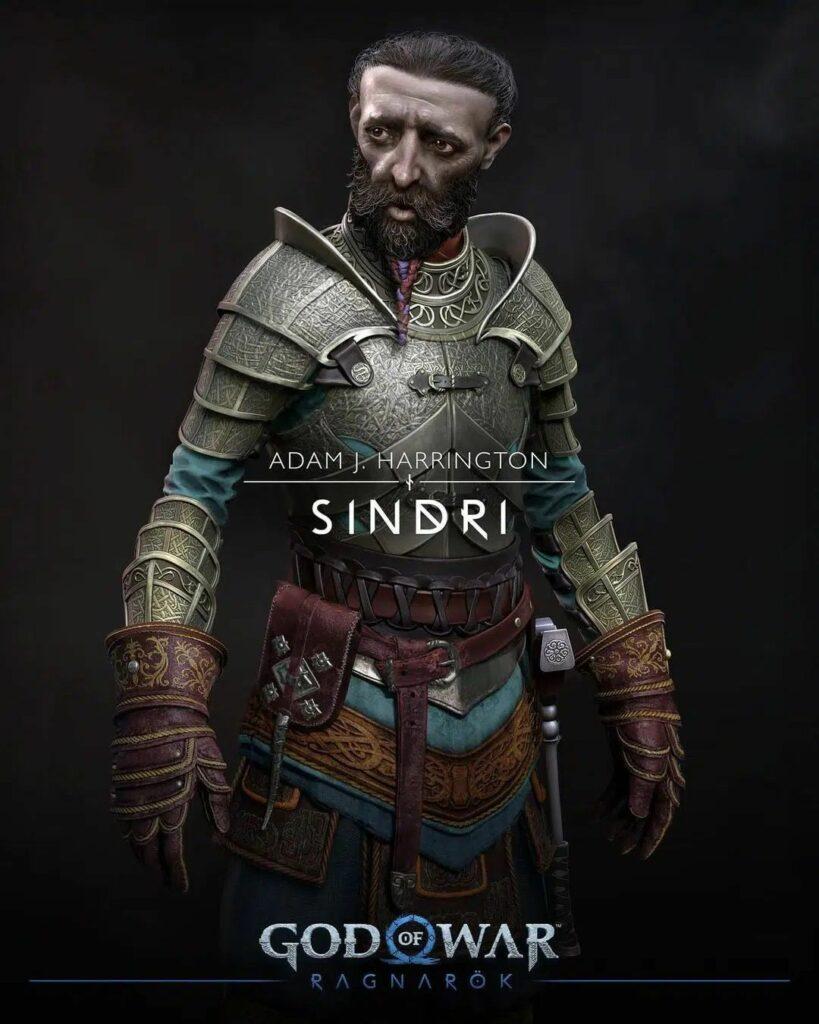God of War Ragnarok Sindri