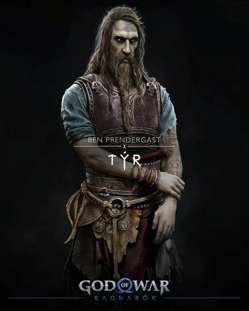 God of War Ragnarok Týr